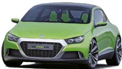 Présentation du concept-car Volkswagen I-Roc, annonçant le futur coupé basé sur la Golf: la VW Scirocco